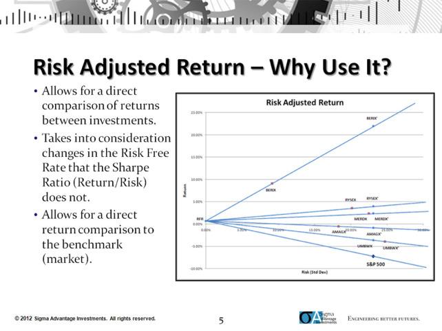 risk-adjusted return on capital investment