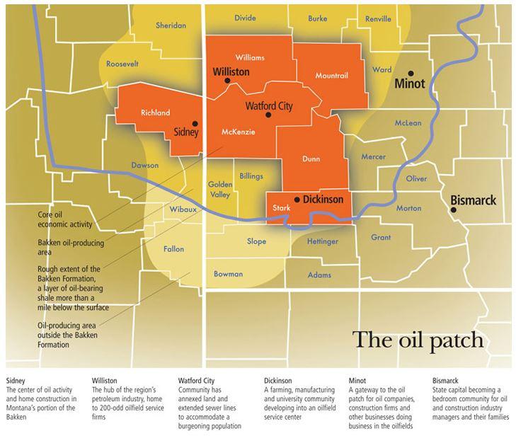 bakken oil patch